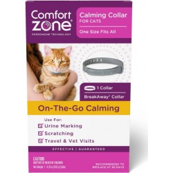 Comfort Zone On the Go Calming Cat Collar Image