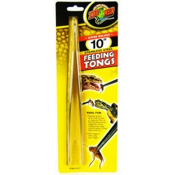 Zoo Med Feeding Tongs Stainless Steel - 10 inch Image
