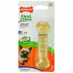 Nylabone FlexiChew Bone Chicken Flavored Image