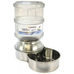 Petmate Replendish Stainless Steel Waterer Image