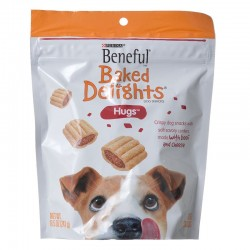 Purina Beneful Baked Delights Hugs - Beef & Cheese 8.5 oz Image