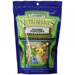 Lafeber Gourmet Nutri-Berries with Popcorn - Parakeet, Cockatiel & Conure Treat Image
