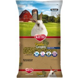Kaytee Timothy Complete High Fiber Rabbit Food For General Health Support  Image