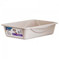 Petmate Cat Litter Pan - Gray Image