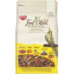 Kaytee Food From The Wild Cockatiel Food For Digestive Health  Image