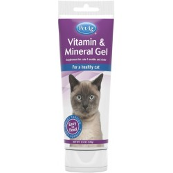 PetAg Vitamin & Mineral Gel for Cats Image