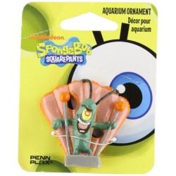 Penn Plax Spongebob Plankton Aquarium Ornament Image