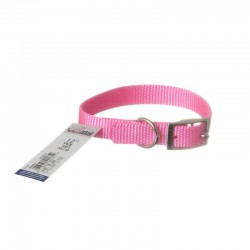 Coastal Pet Single Nylon Collar - Bright Pink Image