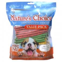 Loving Pets Natures Choice Rawhide Munchy Sticks Image
