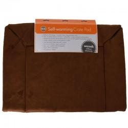 K&H Self-Warming Crate Pad - Mocha Image