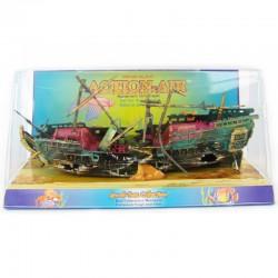 Penn Plax Action-Air Split Shipwreck Aquarium Ornament Image