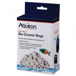 Aqueon QuietFlow Bio Cermaic Rings Filter Media Image