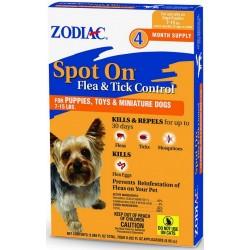 Zodiac Flea and Tick Control Drops Image