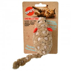 Spot Chenille Chasers Mouse Catnip Toy - Assorted Colors Image