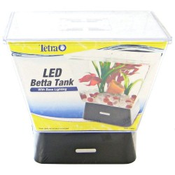 LED Betta Tank with Base Lighting - 1 Gallon Image
