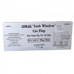 Perfect Pet Aluminum Sash Window Cat Door Image