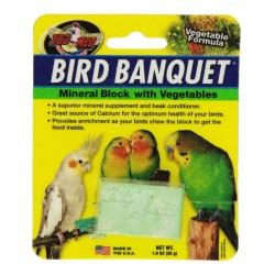 Zoo Med Bird Banquet Vegetable Block Image
