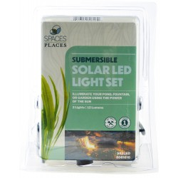 Beckett Pond Solar LED Lights with 2 Light Heads Image