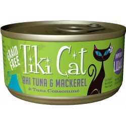 Tiki Cat Ahi Tuna & Mackerel Cat Food Image