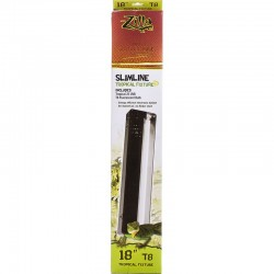 Zilla Slimline Tropical Fixture - T8 UVB Reptile Light Image