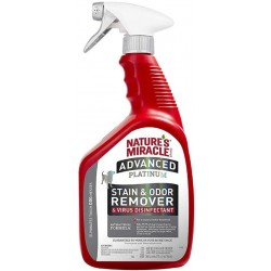Natures Miracle Advanced Platinum Stain and Odor Remover Antibacterial Formula Image