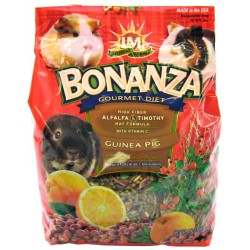 LM Animal Farms Bonanza Gourmet Diet- Guinea Pig Food Image