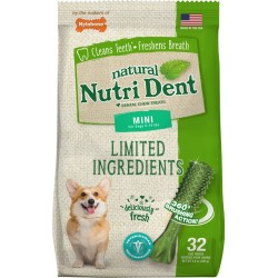 Nylabone Mini Nutri Dent Fresh Breath Dental Chew Treat Mini Image
