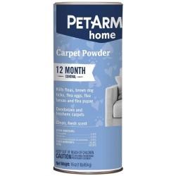 PetArmor Home Carpet Powder for Fleas and Ticks Deodorizes and Freshen Carpets Fresh Scent Image