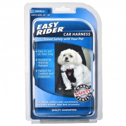 Coastal Pet Easy Rider Car Harness - Black Image