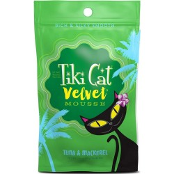 Tiki Cat Velvet Mousse Tuna & Mackerel Cat Food Image