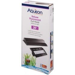 Aqueon Deluxe Fluorescent Full Hood Black Image