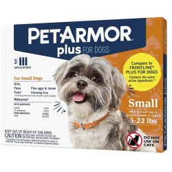 PetArmor Plus Flea and Tick Treatment for Small Dogs (5-22 Pounds) Image