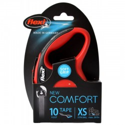Flexi New Comfort Retractable Tape Leash - Red Image
