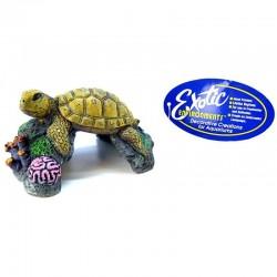 Blue Ribbon Sea Turtle Ornament Image