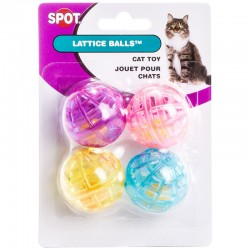 Spot Lattice Balls Toys for Cats Image