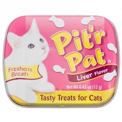 Chomp Pit'R Pat Cat Breath Treats - Liver Flavor Image