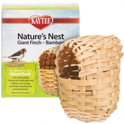 Kaytee Nature's Nest Giant Finch Bamboo Nest Image
