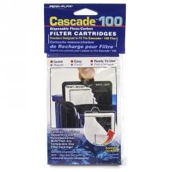 Cascade 100 Power Filter Disposable Floss/Carbon Filter Cartridge Image