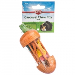 Kaytee Carousel Chew Toy - Carrot Image