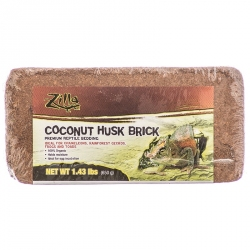 Zilla Coconut Husk Premium Reptile Bedding Brick Image