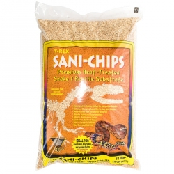 T-Rex Sani-Chips Premium Heat Treated Snake & Reptile Substrate Image