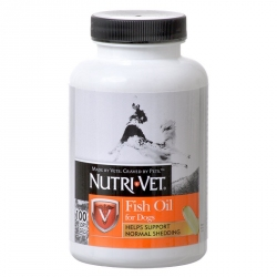 Nutri-Vet Fish Oil Softgels for Dogs Image