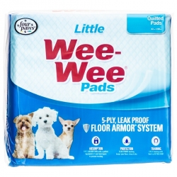 Four Paws Wee Wee Pads for Little Dogs Image