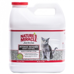 Nature's Miracle Intense Defense Odor Control Clumping Cat Litter Image