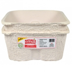 Nature's Miracle Disposable Jumbo Litter Box Image