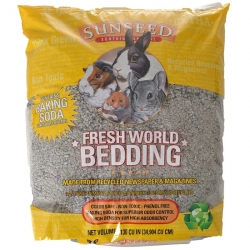 Sunseed Fresh World Bedding for All Small Pets - Grey Image