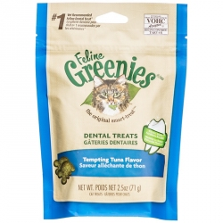 Feline Greenies Dental Treats for Cats - Tempting Tuna Flavor Image