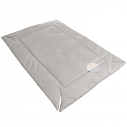 K&H Self-Warming Crate Pad - Gray Image