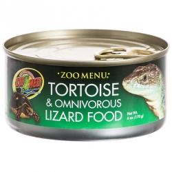 Zoo Med Zoo Menu Canned Tortoise & Omnivorous Lizard Food Image