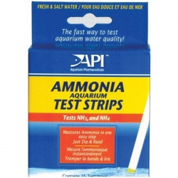 API Ammonia Aquarium Test Strips for Fresh & Saltwater Image